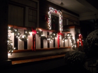 Lighted Porch Garland