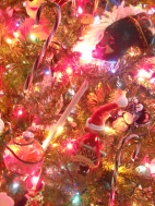 Candy Canes, Stick Horse and Gifted/Crafted Ornaments by Loved Ones