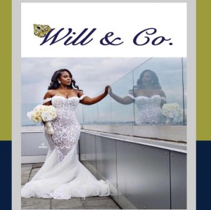 Will and Co_Logo with Wedding Dress